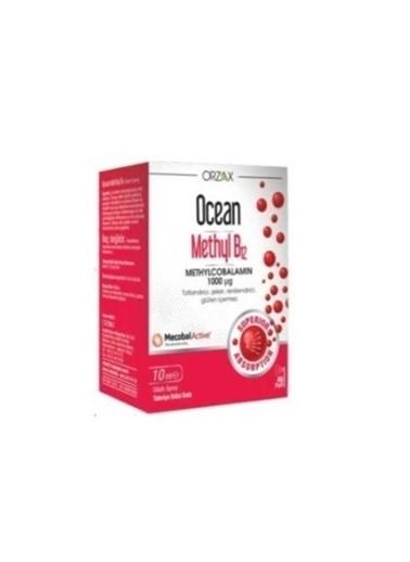 Orzax Orzax Ocean Methyl B12 10 Ml Takviye Edici Gıda Renksiz